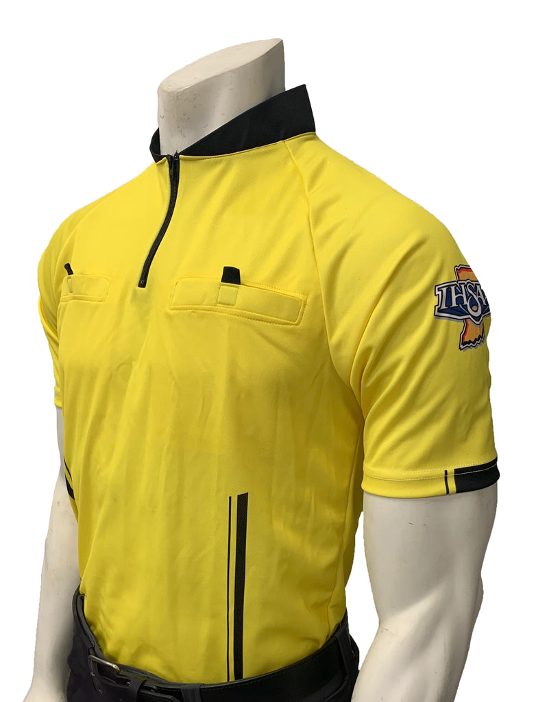 "USA900IN-YW ""PERFORMANCE MESH"" ""IHSAA"" Yellow Short Sleeve Soccer Shirt (3 Options Available)"
