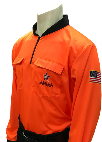 USA901 AL Long Sleeve Soccer Shirt Orange