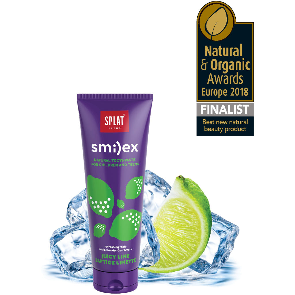 SMILEX Juicy Lime Natural Toothpaste for Teenagers 12+ years