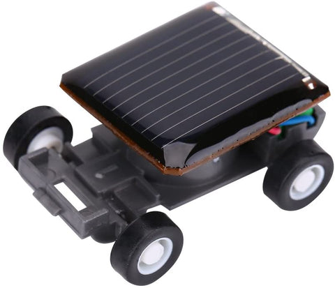 Mini Solar Car, the Smallest Solar Powered Car, Educational Solar Powered Toy