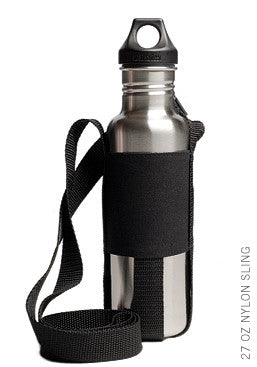Nylon Sling for 27 oz Klean Kanteen Bottle - Black
