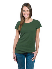 Bamboo T-Shirt (Moss Green) XL