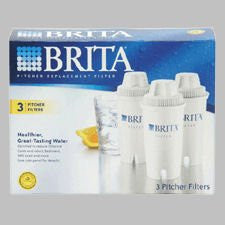 Brita 3-Pack Pitcher Filters
