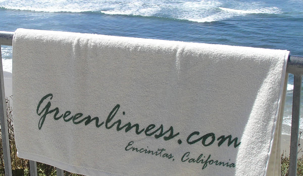 OVERSIZED 100% ORGANIC COTTON BEACH TOWELS