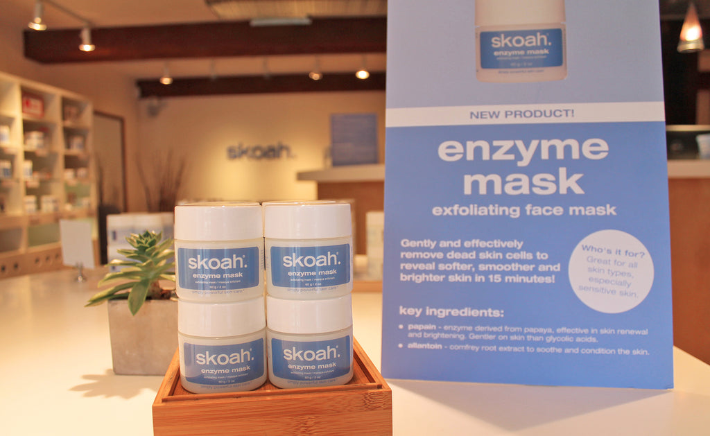 Product Spotlight: enzyme mask