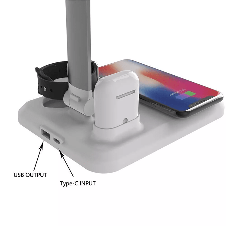 4 in 1 AppleMate Wireless Desktop Lamp Charger - Add-on™ Store