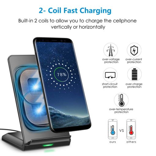 10W Fast Wireless Charging Stand
