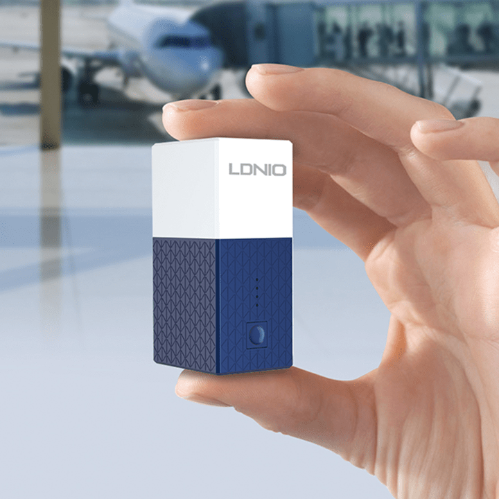 LDNIO Travel Charger with 2600mAh Powerbank - Add-on™ Store