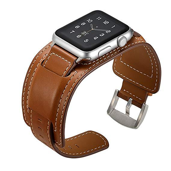 Leather Cuff Watch Band for Apple Watch - Add-on™ Store