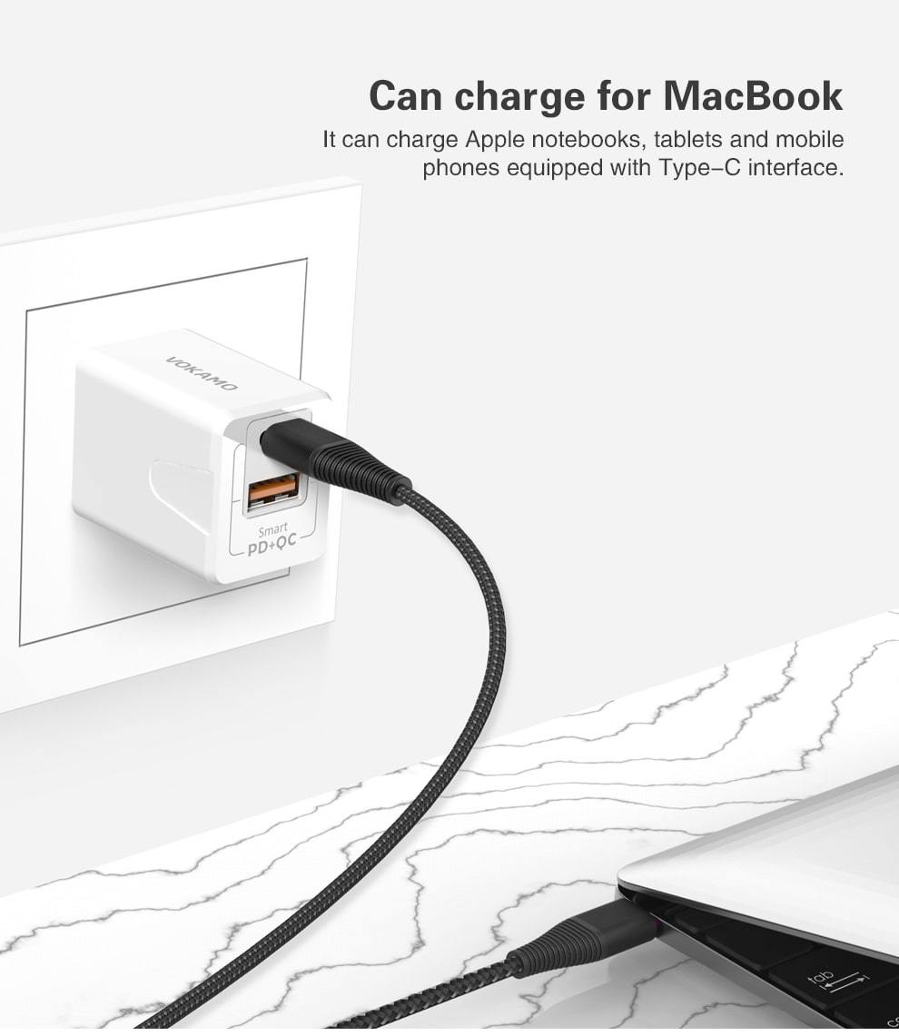 VOKAMO SPOW 18W PD Fast Charger - Add-on™ Store
