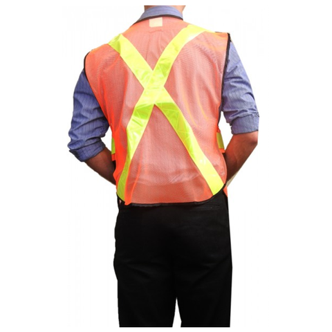 Traffic Vest Reflective OS EA