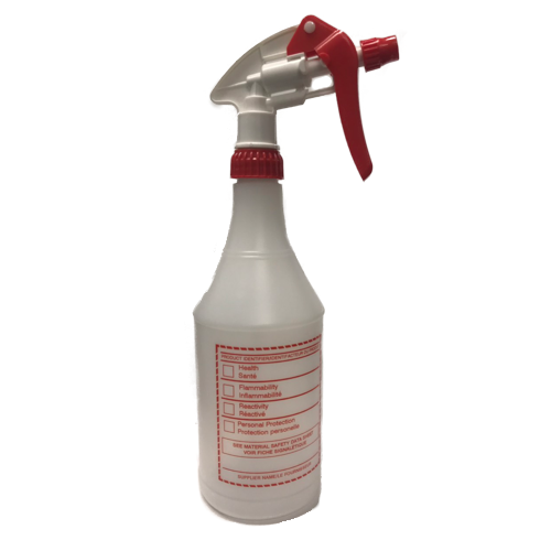 Marino Spray Bottle w/ WHMIS Label Kit