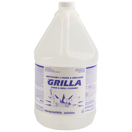 Grilla Oven & Grill Cleaner Concentrated 4L