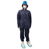 RainSuit Nylon/PU Set Blue 100% waterproof