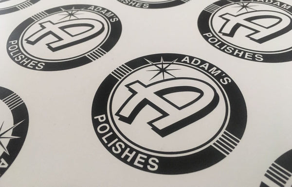 "Adam's 3"" Round Vinyl Decals"
