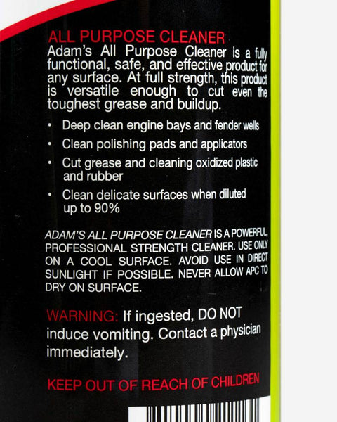Adam's New All Purpose Cleaner 2.0
