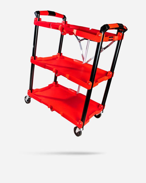 Adam's Foldable Garage Cart