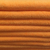 Orange Premium Microfiber Cloths (5 pack)