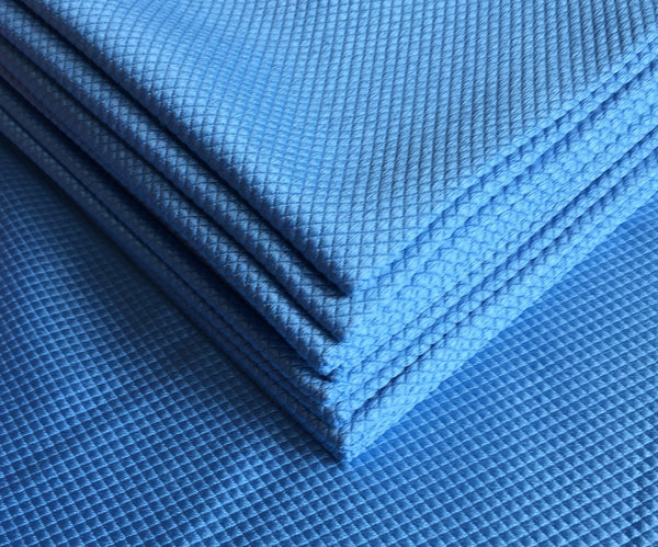 Blue Premium Fishscale Glass Cloth (5 pack)