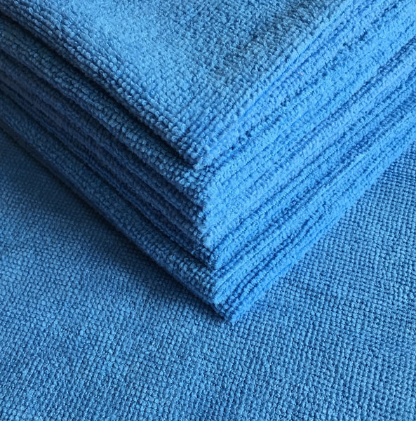 Blue Eco Microfiber Cloths (5 pack)