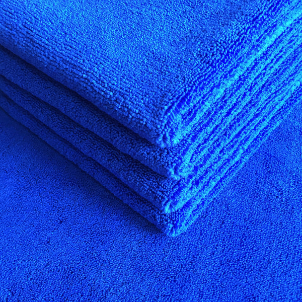 Plush Premium Dark Blue Cloths (5 pack)