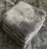 Premium Plush Grey Cloth 1000gsm