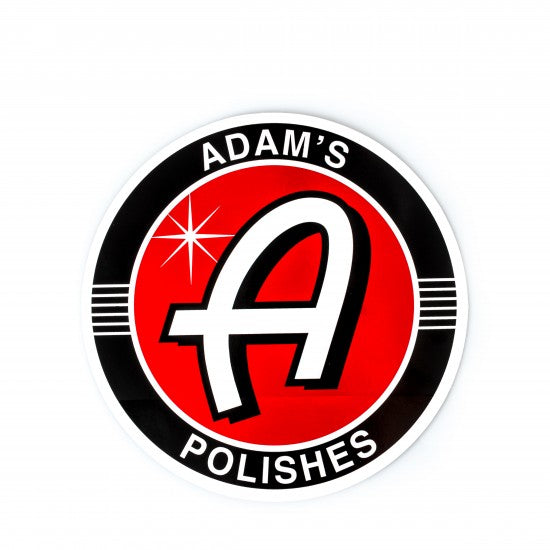 "Adam's Polishes 8"" Sticker & Bucket Label"