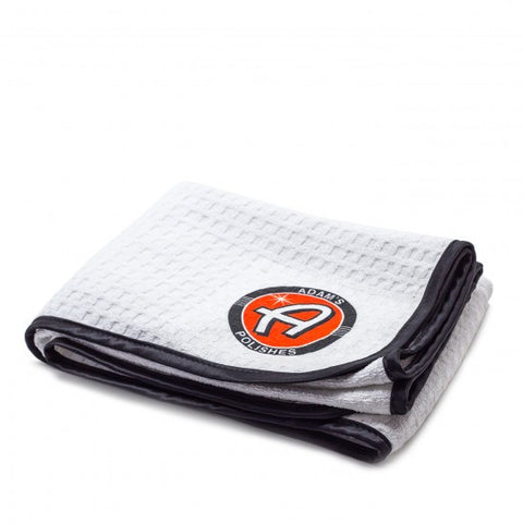White Microfiber Drying Towel