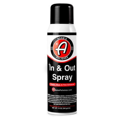 Adam's NEW In & Out Spray