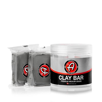 Adam's NEW Medium Grade Clay Bar Kit - 200 Grams