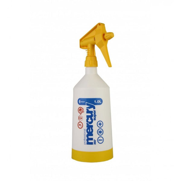 Kwazar Mercury Pro+ 1.0 litre Double-Action Trigger Spray Yellow