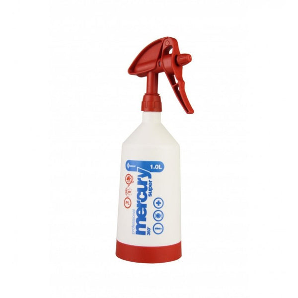 Kwazar Mercury Pro+ 1.0 litre Double-Action Trigger Spray Red