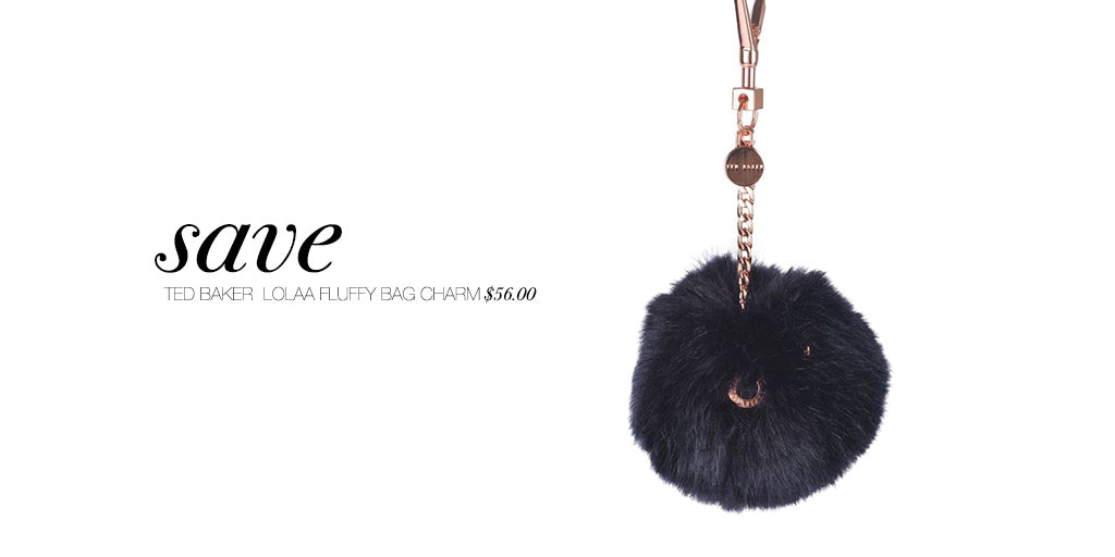 T R E N D I N G: Faux Fur Bag Charms