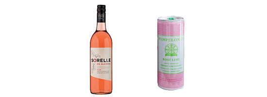 Product image of Rosé bottles continued.