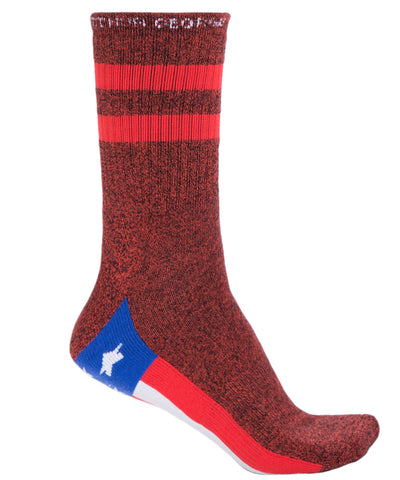 America The Beautiful Half Crew Socks