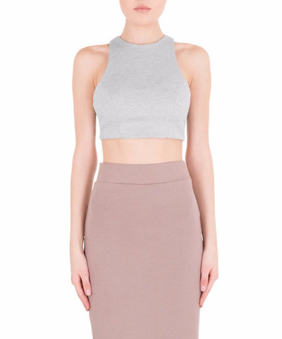 Crop Top w/ Back Cut Out