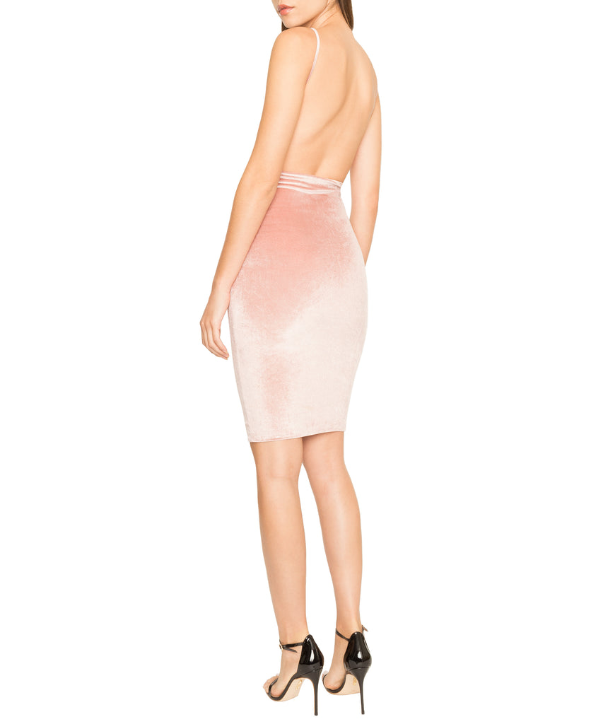 Boom Boom The Label X DASH Kendall Velvet Dress