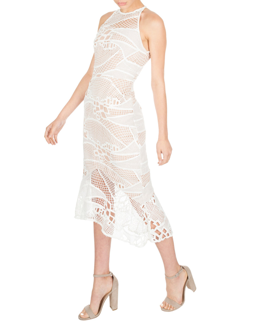 Cooper St. Don't Tell Me Lace Midi Dress