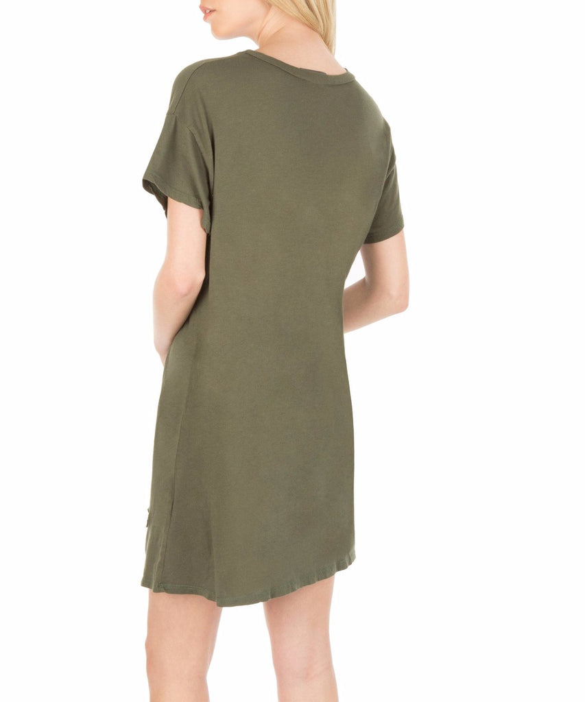 DASH Label | Washed Burnout Tee Dress