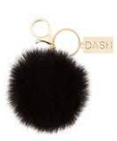 DASH Faux Fur Keychain