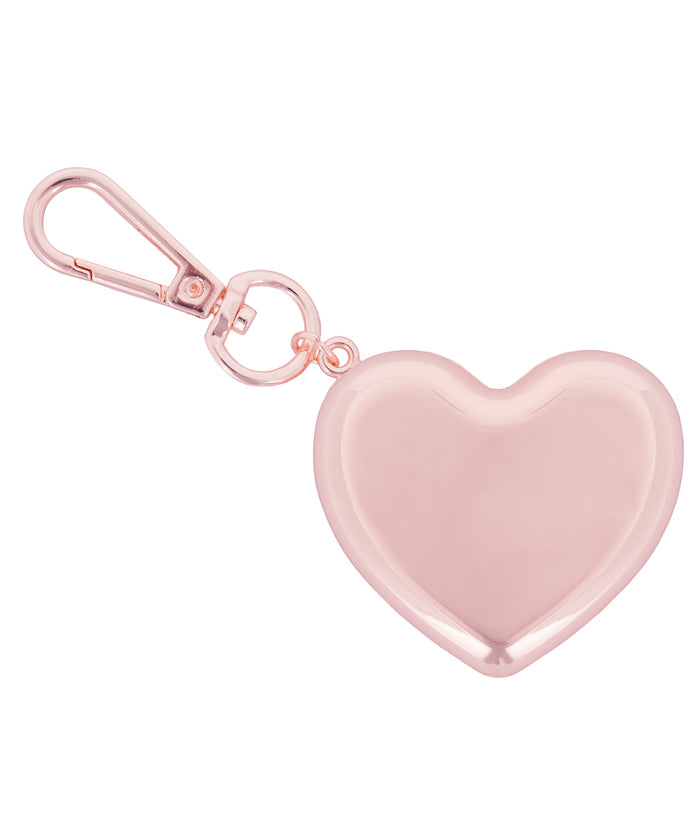 Metal Heart Keychain