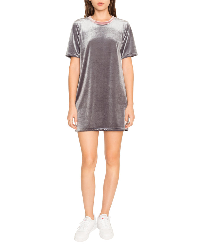 Jabelle Velvet T-Shirt Dress