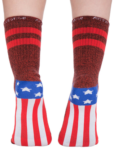America The Beautiful Socks