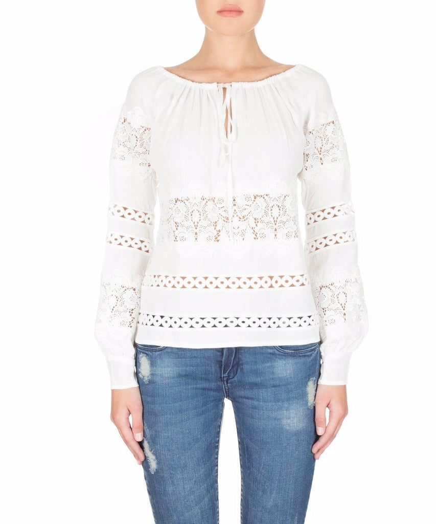 For Love & Lemons Hayley L/S Blouse