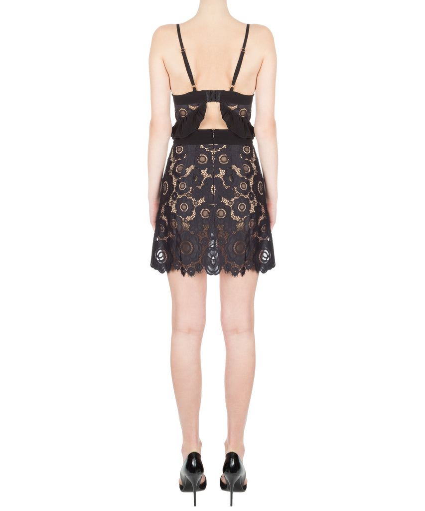 For Love & Lemons Sonya Mini Skirt