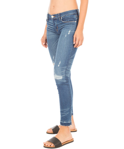 Krista Ankle Released Hem Denim