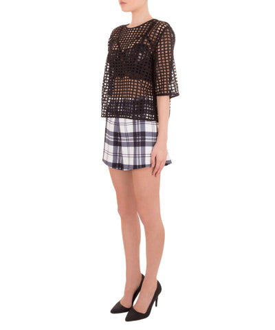 Symphone Plaid Short