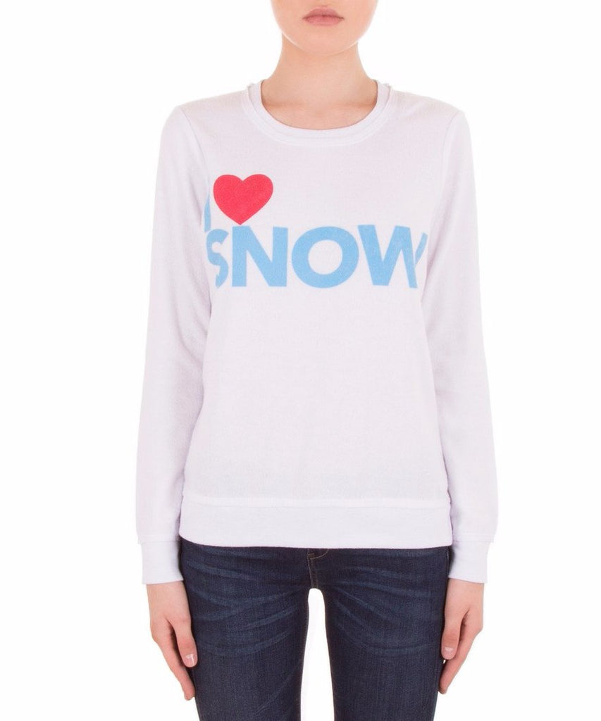 Chaser I Heart Snow Long Sleeve