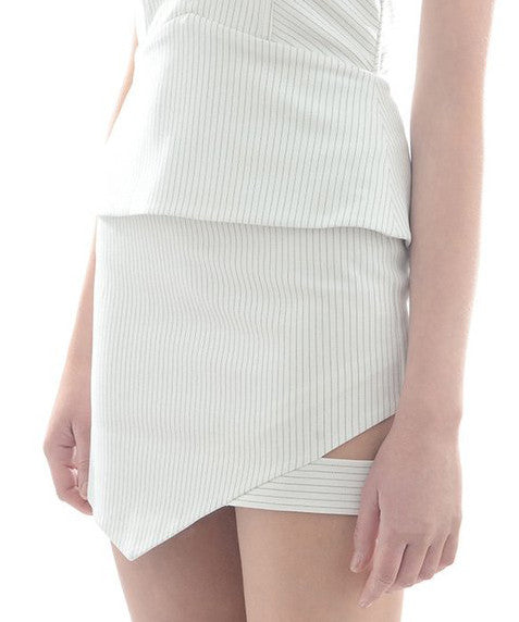 Cut Out Mini Skirt