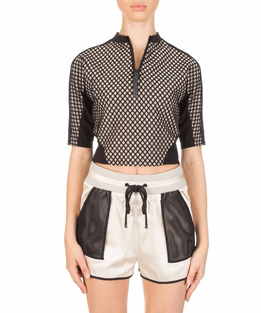 Kendall + Kylie Mesh Sports Top